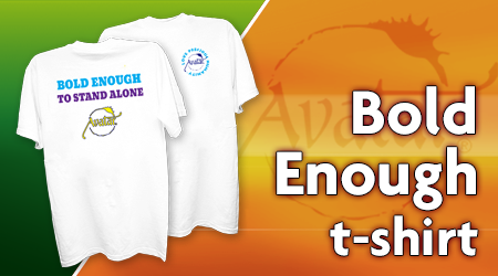 Bold Enough To Stand Alone - T-shirt