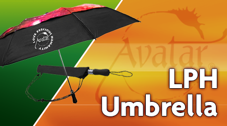 Umbrella with LPH logo